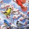 Toland-Home-Garden-Finch-And-Cardinal-28-x-40-Inch-Decorative-Winter-Bird-Berries-House-Flag