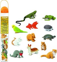 Amazon.com: Safari Ltd. Pets TOOB - Includes 12 BPA, Pthalate, and Lead  Free Hand Painted Figurines - Ages 3+: Toys & Games