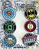 """Application DC Comics Originals Justice League 6 Pat Ch Set Novelty, 2"""""""
