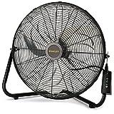 Lasko Stanley Max Performance High Velocity Floor Fan, 1-Pack, 655650