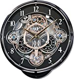 Rhythm Clocks 'Gadget' Magic Motion Clock, Black