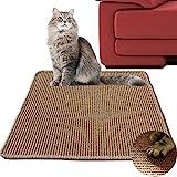 Diversity world Natural Sisal Cat Scratching Mat (20'x20', Khaki)
