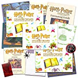 Harry Potter Spells & Potions Activity Super Set -- 3 Magical Kits for Kids (Herbology, Optical Illusions and Creatures)