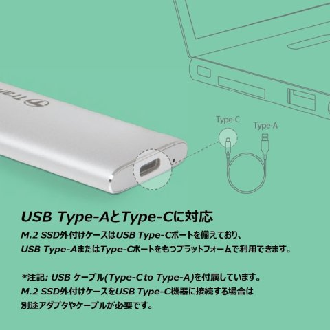 Transcend TS-CM80S USB Type-C