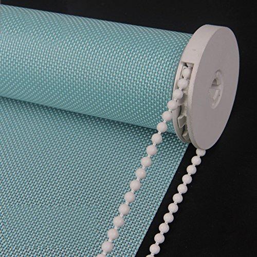 PASSENGER PIGEON Solar Window Shades, Premium Light Filtering UV Protection Flame Retardant Water Proof Custom Made Roller Shade,43' W x 44' L,Blue