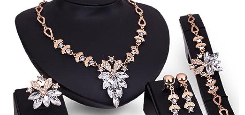 81cd278b0a44 Los mejores 10 Conjuntos Joyas Mujer - Guía de compra