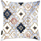 Moroccan patterned cushion