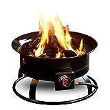 Outland Firebowl 823 Portable Propane Gas Fire Pit, 19-Inch Diameter 58,000 BTU