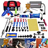 Fly5D 74 Pcs Body Paintless Black Starter Set Kits for Car Hail Damage and Door Dings Repair