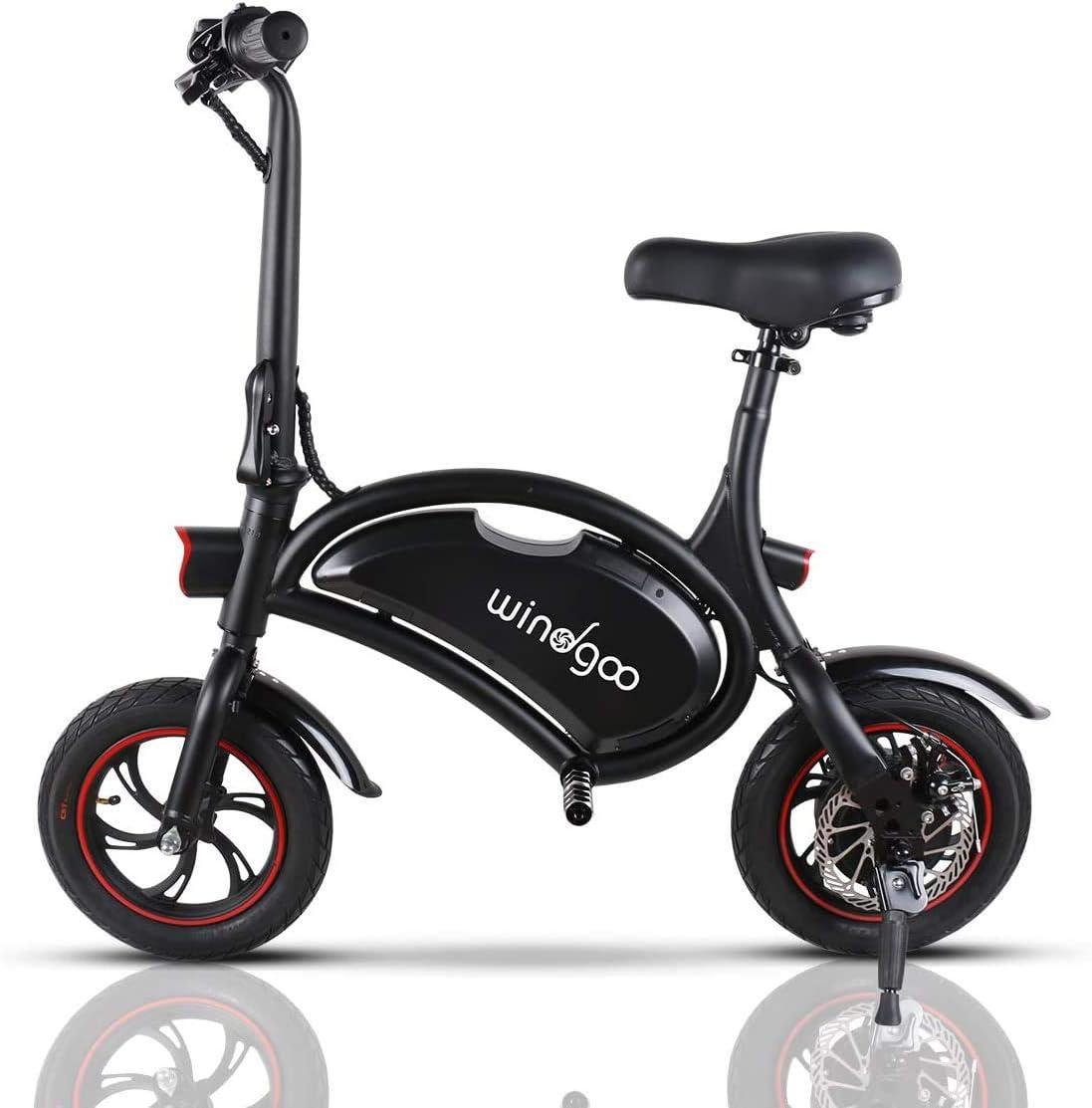 Draisienne électrique Pliable Windgoo Vélo électrique Pliable - B3 Noir