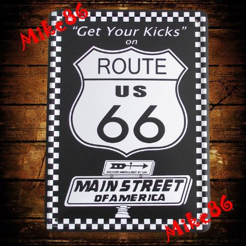 Get Your Home Decor Kicks With Route 66 Wall Art Highway