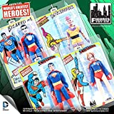 Superman Retro Series 1 Action Figure Set [Mr. Mxyzptlk, Superman, Bizarro & Supergirl]