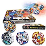 Bey Burst Evolution Switchstrike Battle Tower - Includes ,Four Battling Tops, & Two Launchers & Two Launcher Grip - Age 8+