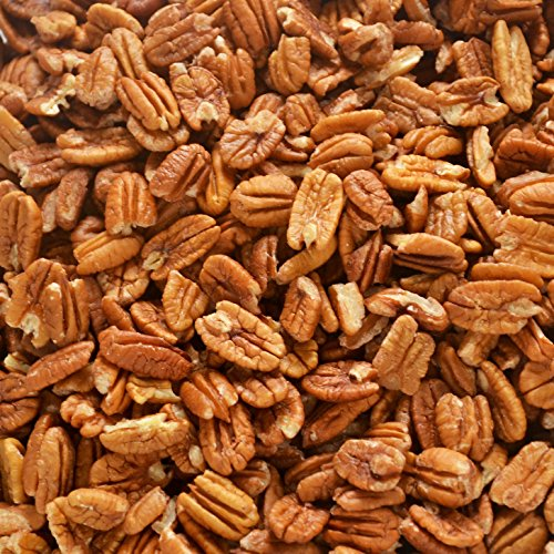 Just harvested Unsprayed Raw Organic Practice 4 oz Certified Pesticide-Free Fresh Texas Native Pecan Halves-Fresh Direct Ship