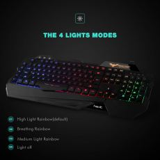 Havit Rainbow Backlit Wired Gaming Keyboard 2