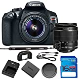 Canon EOS Rebel T6 DSLR Camera w/EF-S 18-55mm f/3.5-5.6 is II Lens with 16GB SD Memory Card Bundle