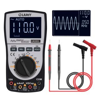 LIUMY Professional LED Handheld Oscilloscope Multimeter