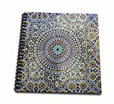 3dRose db_132003_2 Mosaic Wall for Fountain, Fes, Morocco, Africa-Af29 Kwi0083-Kymri Wilt-Memory Book, 12 by 12-Inch