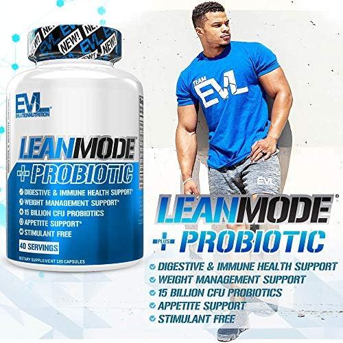 Evlution Nutrition Leanmode + Probiotic, Advanced Probiotic Capsule Supplement, 15 Billion CFUs per Serving, Digestive Support & Gut Health (40 Servings) 7
