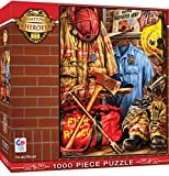 MasterPieces Hometown Heros Jigsaw Puzzle Fire & Rescue, Featuring Art by Dona Gelsinger,  1000 Pieces