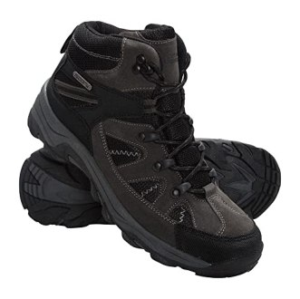 Mountain Warehouse Rapid Womens Boots Waterproof Summer Walking Shoes Black 10 M US Women