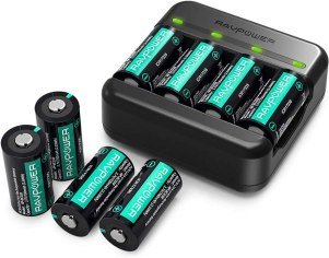 best rechargeable cr123a battery - RAVPower