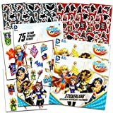 DC Super Hero Girls Stickers and Tattoos Party Favors Bundle -- Over 240 Super Hero Girls Stickers, 75 Temporary Tattoos and 300 Bonus DC Comics Stickers (Party Supplies)