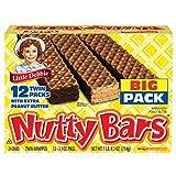 Little Debbie Nutty Bars, 2.1 Oz., 12-Pk (2 BOXES )