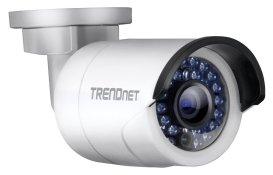 "La TRENDnet TV-IP320PI est une caméra ""Bullet"""