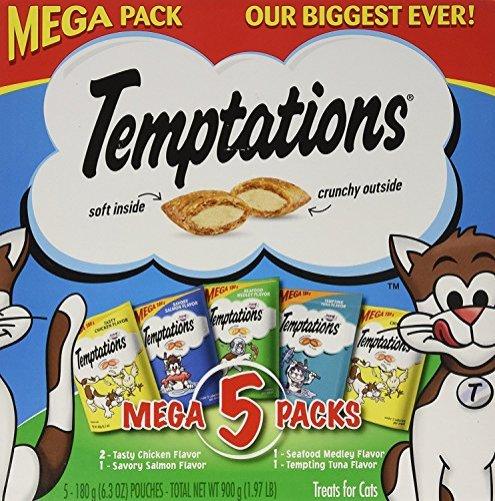2-x-Temptations-Whiskas-Mega-Pack-Cat-Treats-Assorted-Flavors-63-oz-5-Pack