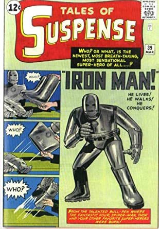 Tales Of Suspense 39 Iron Man Custom Made Cover w/ 1964 REPRINT 1st Iron  Man at Amazon's Entertainment Collectibles Store