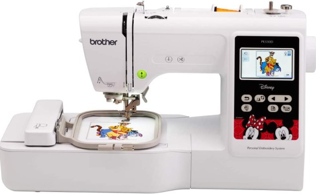 Brother PE550D Embroidery Machine Specification
