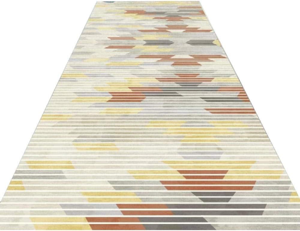 Amazon Com Carpet Runner Modern Grey Geometric Hallway Rug | Modern Carpet Runners For Stairs | Geometric | Design | White | Curved | Kitchen Modern