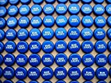 200 ((Bud Light)) No Dent Bottle Caps for Crafts, Tables, or Jewelry