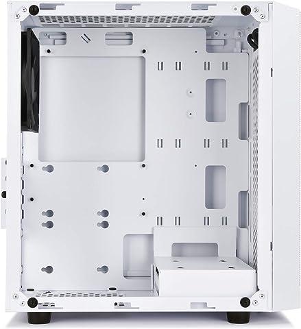 Silverstone 【Precision シリーズ】強化ガラスを採用したミドルエンドMicroケース SST-PS15B-G 内部レイアウト