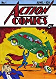 Action Comics #1 (1938) Movie Poster 24x36 inches Superman