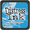 Distress Ink in Salty Ocean