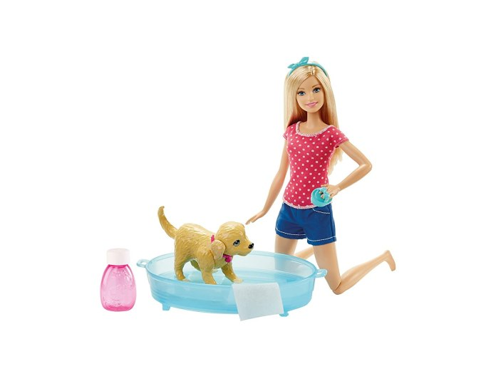 Barbie y su perrito