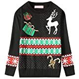 Product review for Camii Mia Big Girls' Crewneck Snowflake Pullover Ugly Christmas Sweater