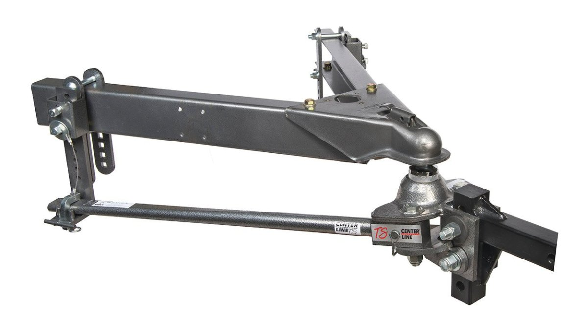Best Weight Distribution Hitches Husky 32218 Center Line TS with Spring Bars - 800 lb. to 1,200 lb