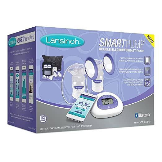 Lansinoh Smartpump Double Electric Breast Pump Making Pumping