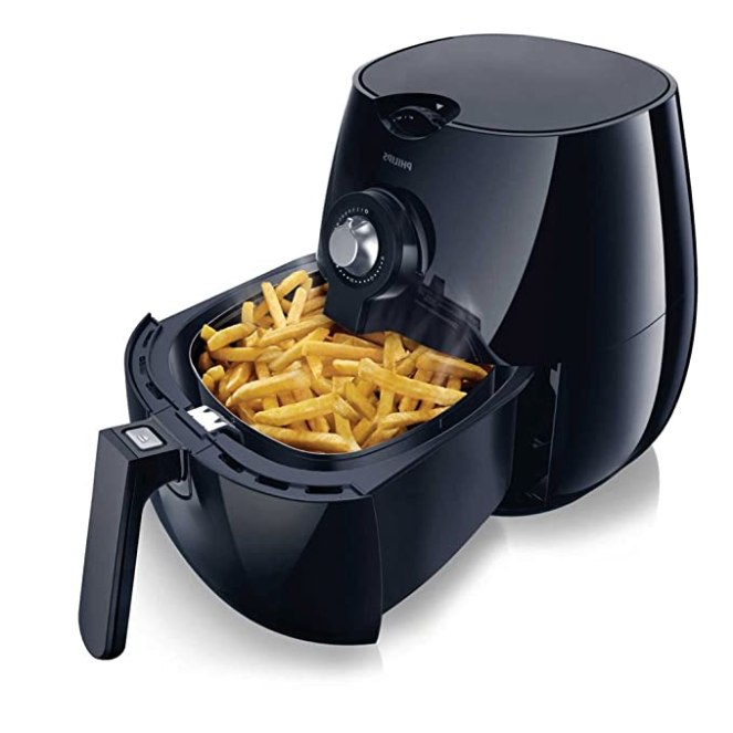 Philips Viva Airfryer - Black - HD9220/26 (Certified Refurbished)