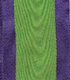 Entertaining with Caspari Wired Ribbon, Moiré, Purple and Green