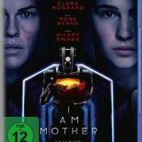 I Am Mother / Regie: Grant Sputore. Darst.: Luke Hawker/RoseByrne, Clara Rugaard, Hilary Swank [...]