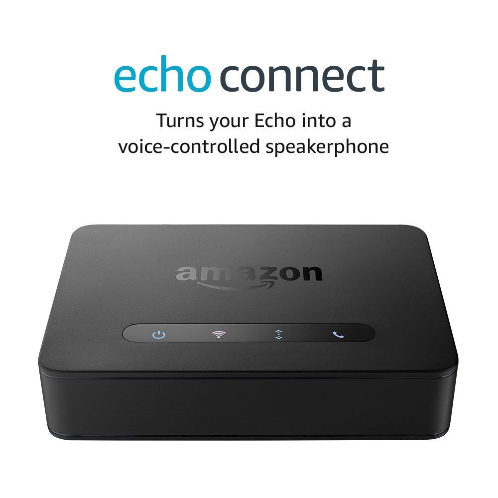 Echo Connect – requires compatible Alexa-enabled device and home phone service