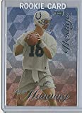 1998 Playoff Prestige Football #165 Peyton Manning Rookie Card