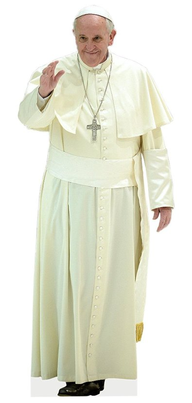 Bizarre Weird Crazy Stuff They Sell On Amazon. Pope Francis Standee Cardboard