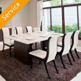 Dining Set Assembly - 9 pieces