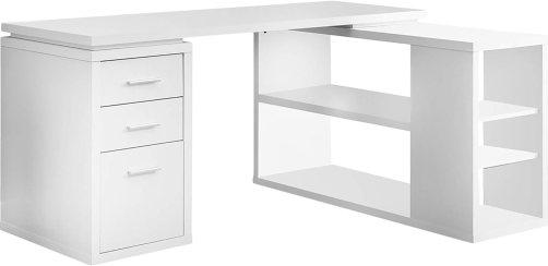 Monarch Specialties Hollow-Core Left or Right Facing Corner Desk