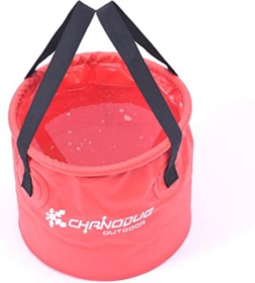 Free Grace Premium Collapsible Bucket With Mesh Pocket